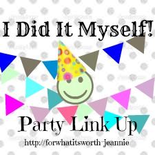 Blog party linking recipes, crafts, DIY, ideas
