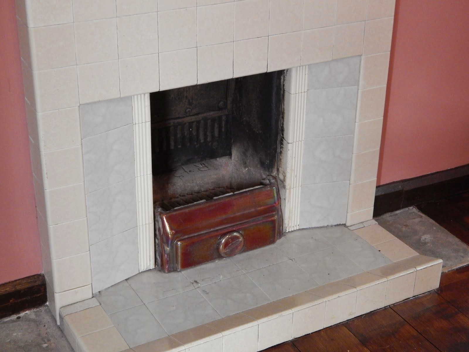 We all had a fireplace like this!