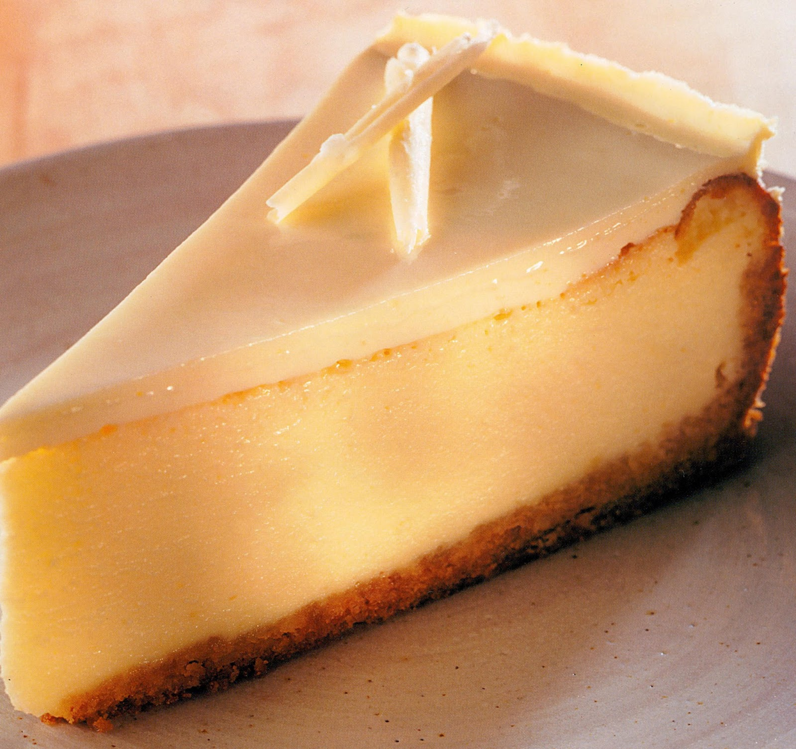 White Chocolate Cheesecake Recipe ~ Easy Dessert Recipes