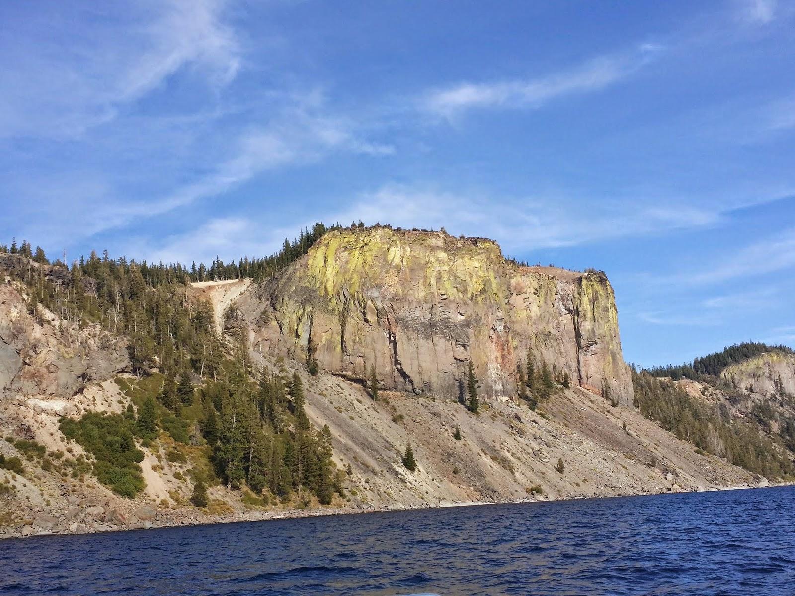 """""""Palisade Point"""" at Crater Lake"""