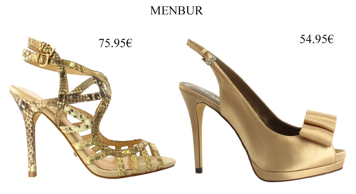 sandalias doradas - moda nupcial - foro bodas