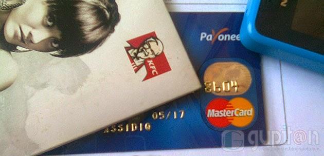 Cara Membuat Kartu Kredit MasterCard dari Payoneer