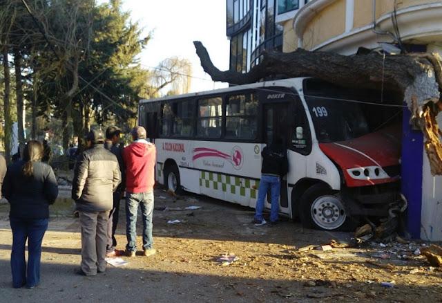 Camión pasajeros Toluca Noticias