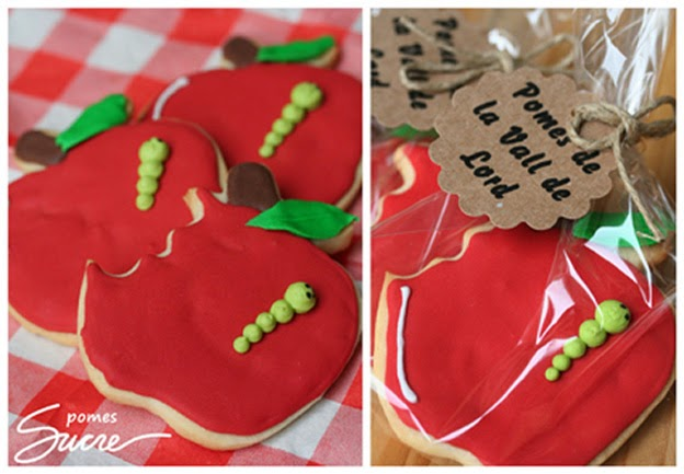 galetes decorades poma, pomes, fruita, fruites, galletas decoradas manzana, manzanas, fruta, frutas