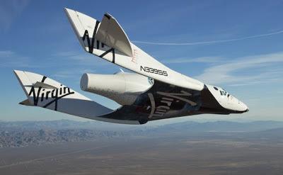 Pesawat The Virgin Galactic SpaceShip2 (VSS Enterprise)
