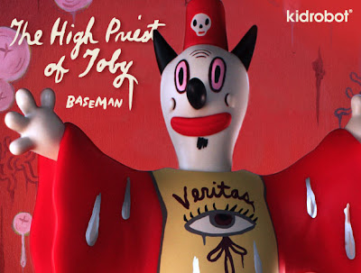 The High Priest of Toby 9 Inch Vinyl Figure by Gary Baseman