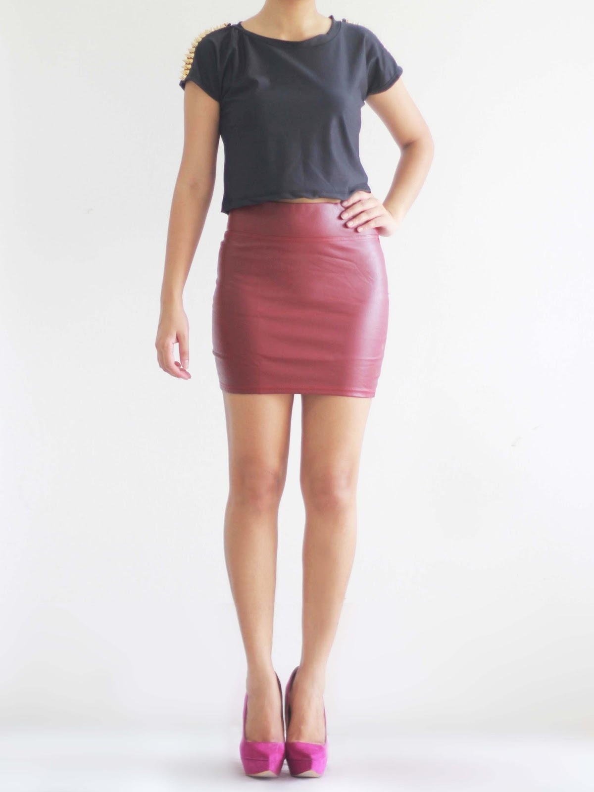 Shop Pingtr PU Leather Mini Skirt, Women Sexy Leather High Waist Pencil Skirt Bodycon Slim Short Mini Skirt. Free delivery and returns on eligible orders.5/5.
