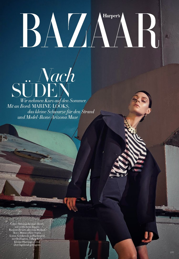 Fashion Model @ Kinga Rajzak - Harper'S Bazaar Germany, May 2015