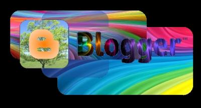 Разноцветная эмблема Blogger