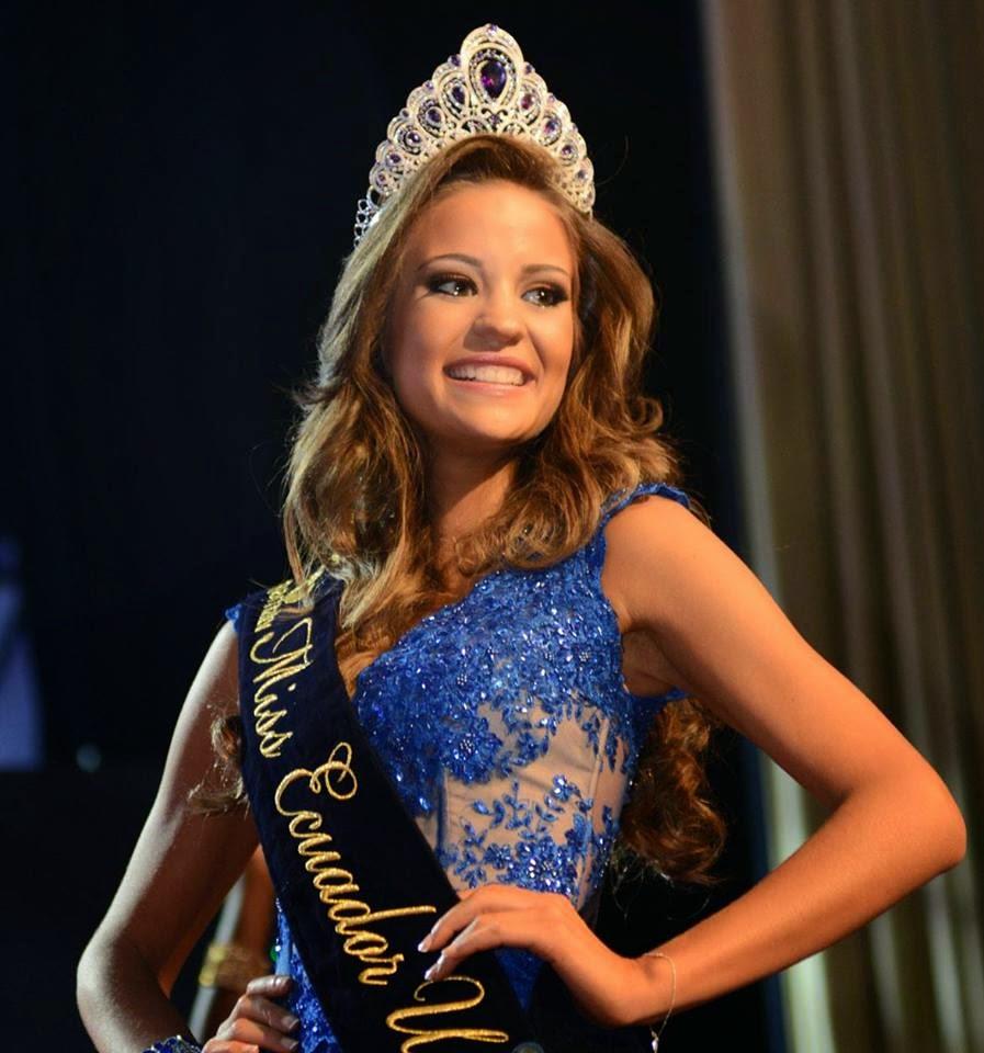 Miss Ecuador 2014 Silvia Alejandra Argudo Intriago