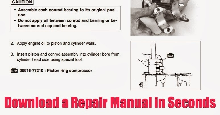 DOWNLOAD 70HP Outboard Repair Manual DOWNLOAD 70