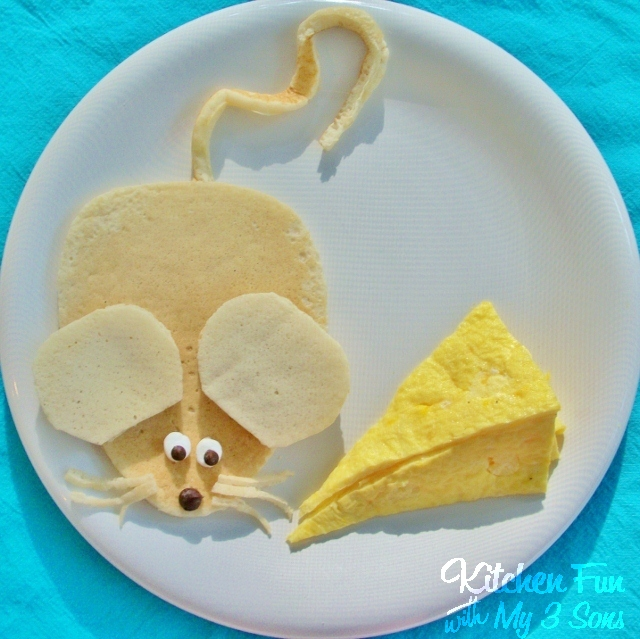 We made this Mouse & Cheese Breakfast a few weeks ago and my boys ...