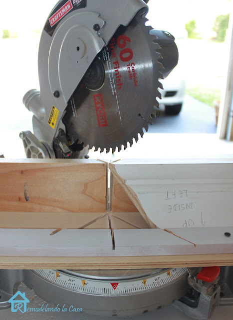 miter saw and jig