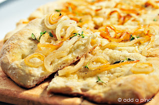 Carmelized Onion & Thyme Flatbread