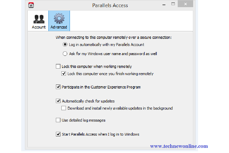 Use IOS Devices, Android Access Computer With Parallels Access  2