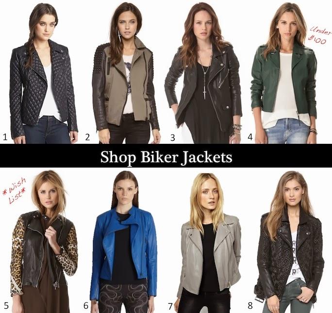 shop biker jackets