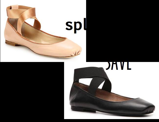 Chloe ballet flat, Audrey Brooke ballet flat, ballet flat with strap