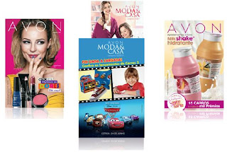 Folheto Avon online