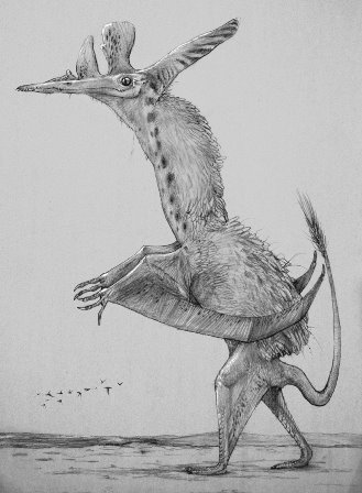 David Peters' Pterosaurier Pterodactylus_peters+resized