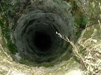Interior del pou de la Serra