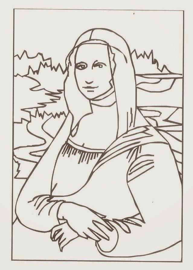 de artes - 5 - Mona LisaEDUCAR É VIVER: Aula