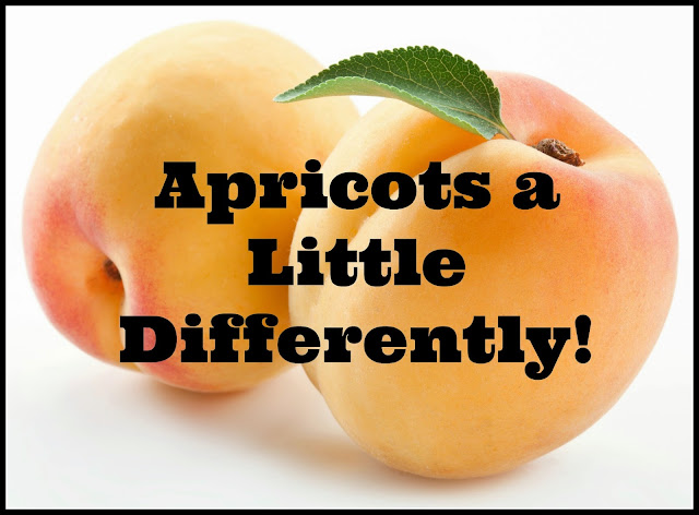 apricots a little differently