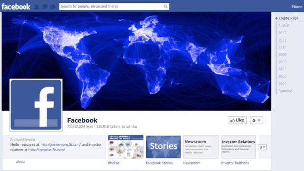 Page Facebook de Facebook