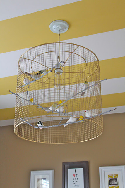 Beau lifestyle diy bird cage lamp guess i am in the mood to be creative as i am posting of another diy project this one is a lampshade made of wire and birds a diy birdcage lamp keyboard keysfo Images
