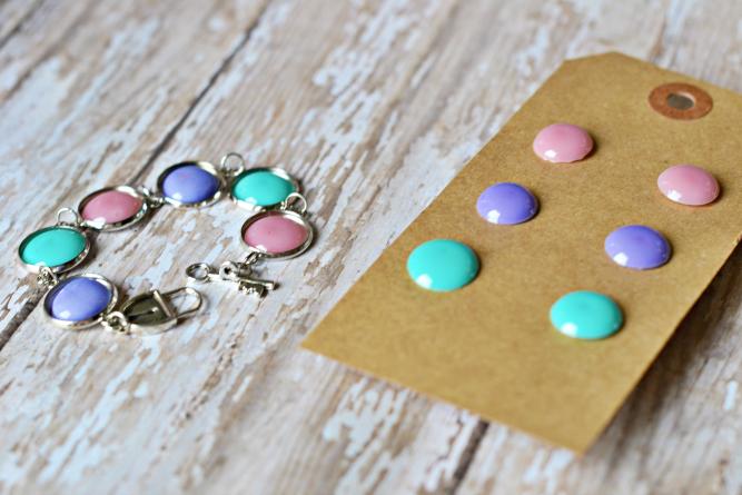 Bracelet+and+earrings