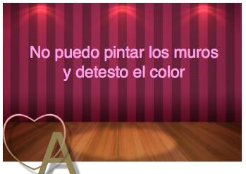 Amando mi casa no puedo pintar los muros y detesto el color - Que color puedo pintar mi casa ...