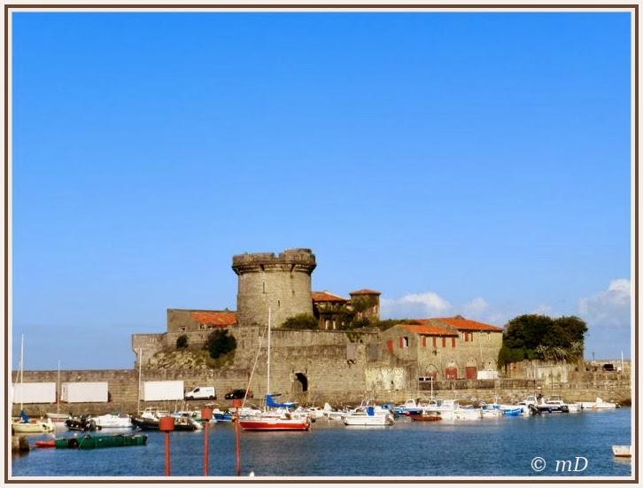 Le jardin de titi ciboure et le fort de socoa au pays basque - Fort de socoa ...