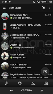 Preview BBM Full Black V2.10.0.35