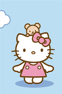 Hello Kitty iPhone wallpaper 320x480