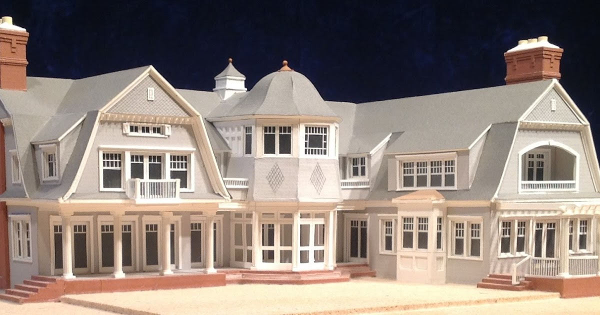 Architectural house models of houses in the hamptons long for Model houses in new york