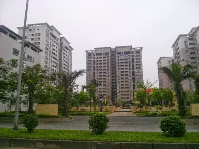 hình ảnh thực tế chung cư Green House