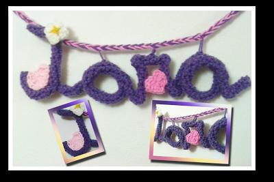 iara - fefi - letras crochet - el mundo de fefi