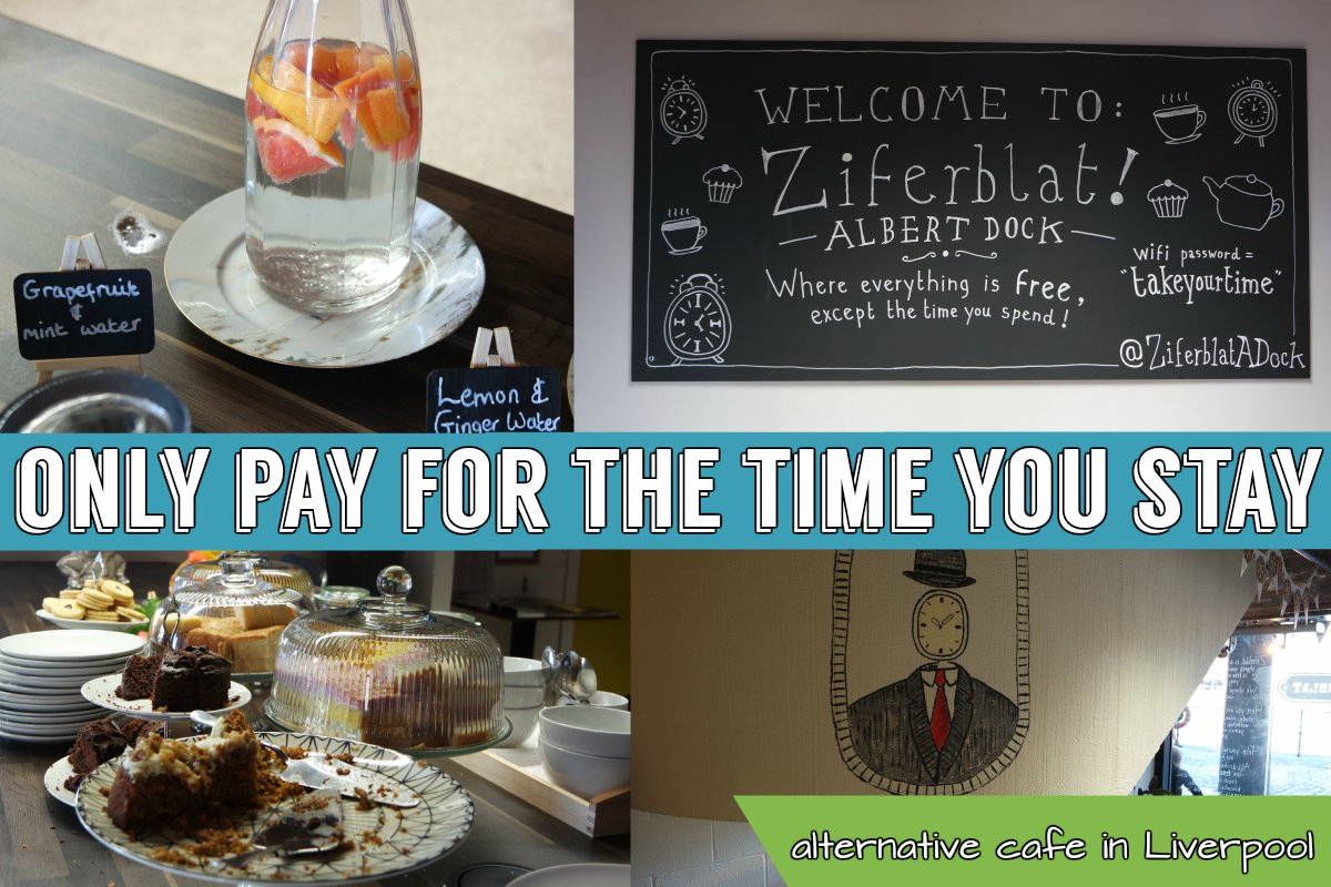 Ziferblat Albert Dock - Pay for the time you stay   gingerbread smiles.