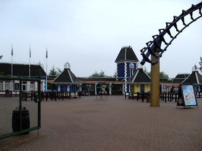 The entrance to Alton Towers