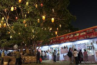Khadi Gram Udyog Gandhi Market Stalls at Baliyatra