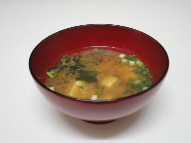 Ma vraie cuisine japonaise soupe miso - Soupe miso ingredient ...