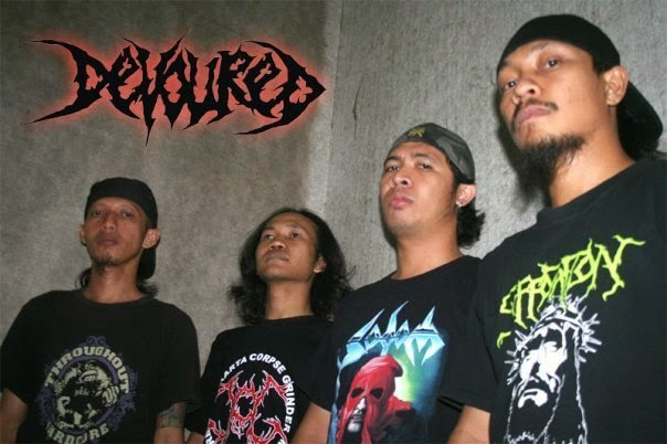 Devoured band death metal surabaya Indonesia foto images logo wallpaper