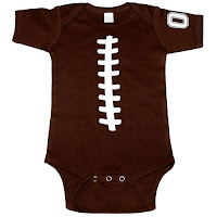 Psychobaby Football Belly One-Piece