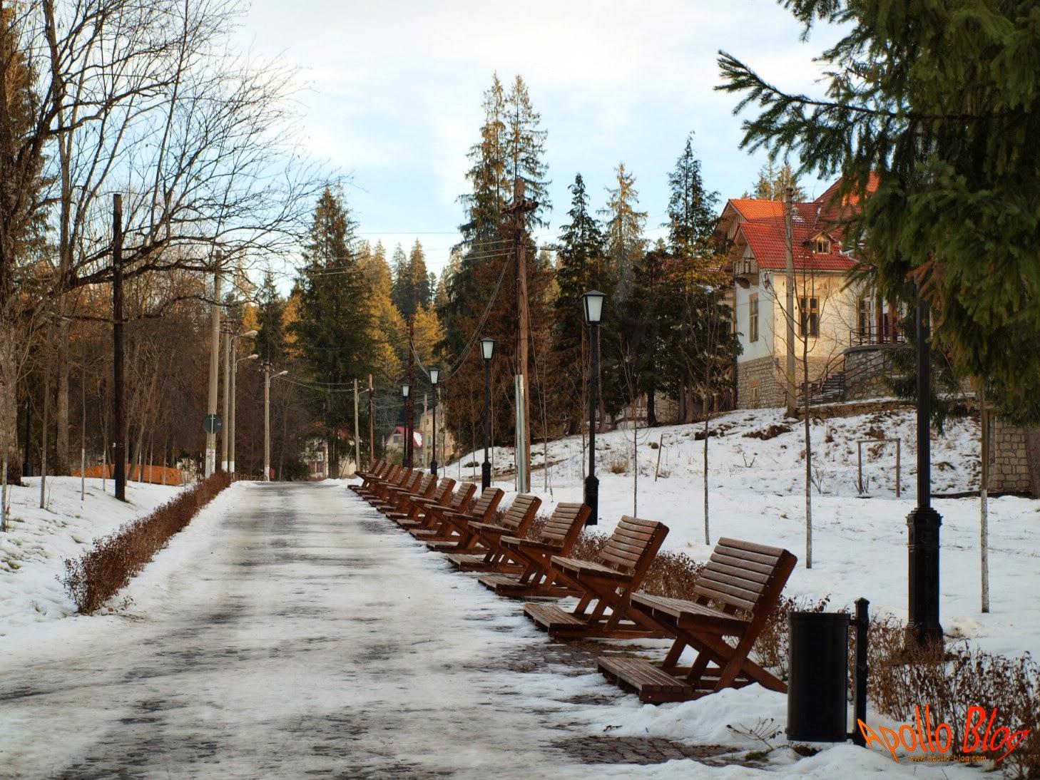 Centrul Statiunii Borsec