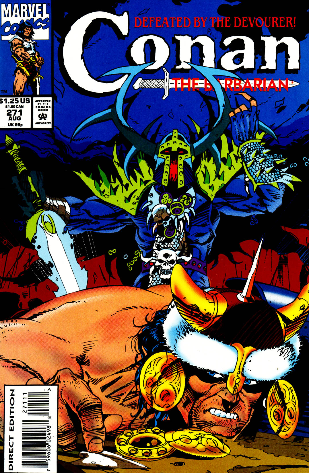 Conan the Barbarian (1970) Issue #271 #283 - English 1