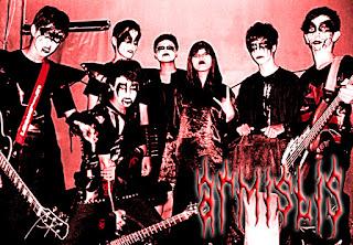 Armistis Band Gothic Black Metal Depok Jawa Barat Indonesia Foto personil Logo Artwork Wallpaper