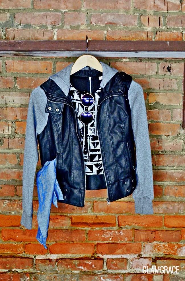 chambray and black - Cleveland Fashion