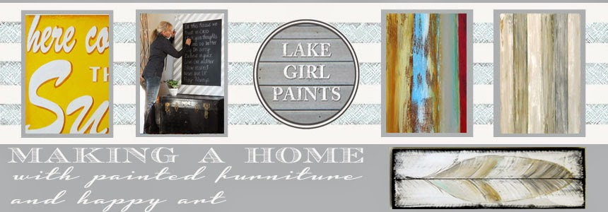 Lake Girl Paints