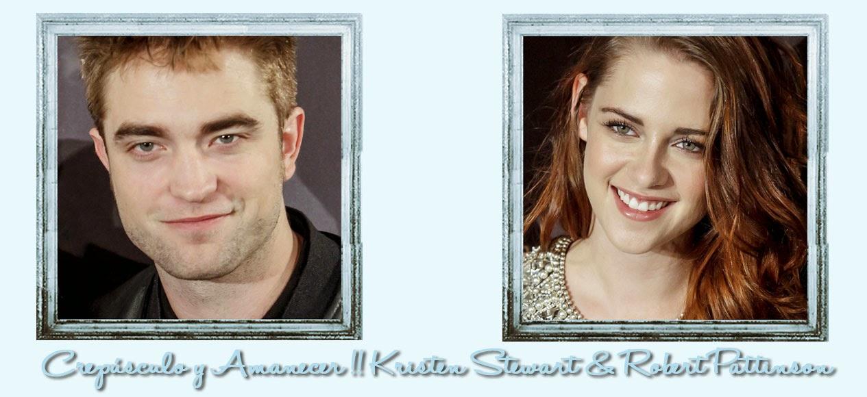 Crepúsculo y Amanecer !! Kristen Stewart & Robert Pattinson