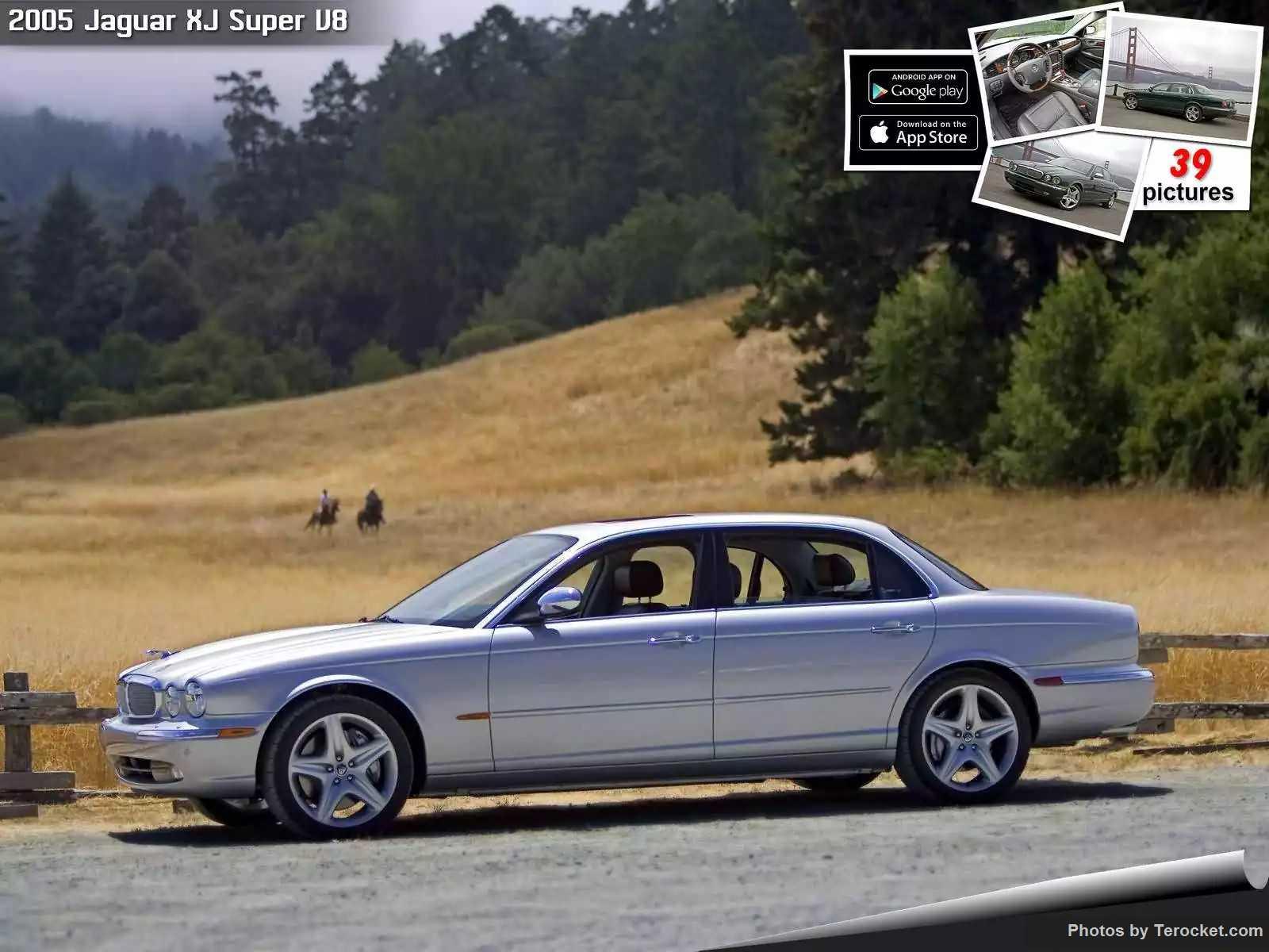 Hình ảnh xe ô tô Jaguar XJ Super V8 2005 & nội ngoại thất