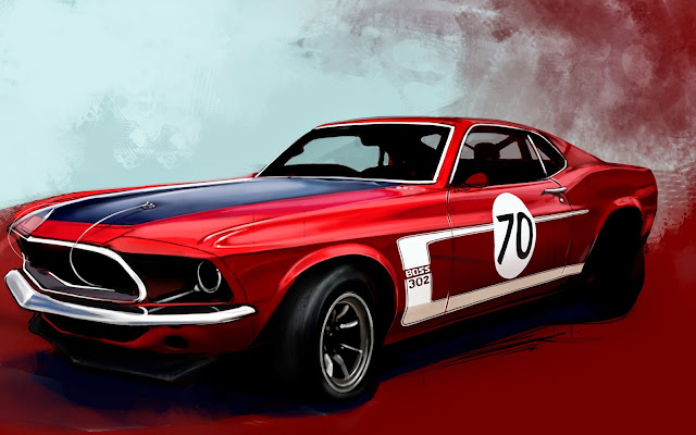 205-Wonderful Red Car HD Wallpaperz